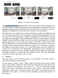 A cognitive investigation of interior effects of windows sizes
