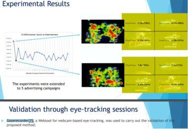 Advertisement Layout Optimisation to Predict Customers' Behaviour